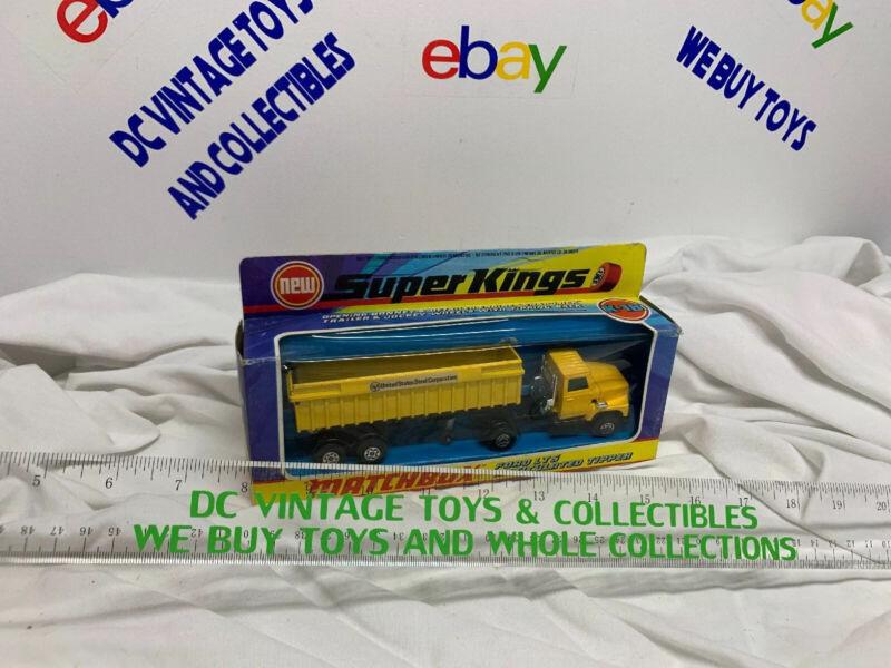 Matchbox Lesney SF Super Kings K-18 Ford LT-S Dumper Tipper - US STEEL - OB