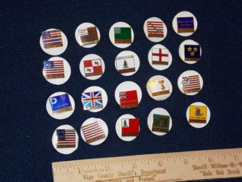 SET OF 20 BOY SCOUT 1997 NATIONAL JAMBOREE SUBCAMP PINS