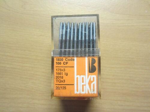 175x3 Sewing Machine Needles, sz. 20, Box of 100