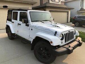 2015 Jeep Wrangler X Edition Fully loaded and LOW km!