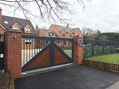 Aluminium Gates, Handmade in the UK built to order