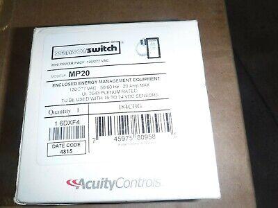 Acuity Controls Sensor Switch Mp20 120277 Vac Mini Power Pack