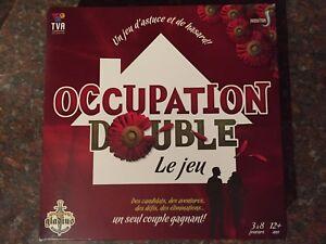 Jeux de société, occupation double