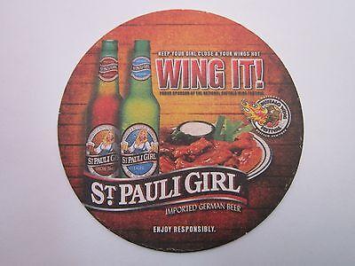 2009 Bier Untersetzer ~ st Pauli Mädchen Brewery Importiert Deutscher ~ Wing It ()