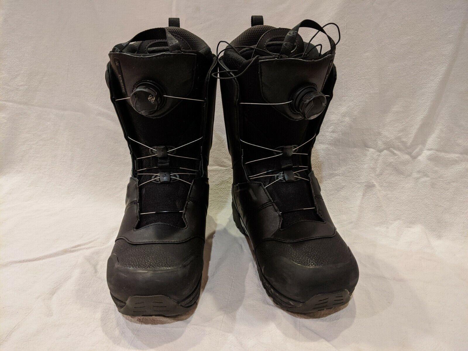 2018 Salomon Synapse Focus BOA Black Mens Snowboard Boots -