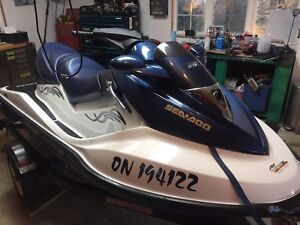 2005 Seadoo GTX 185 Supercharger rebuilt LOW HOURS 3 Seater