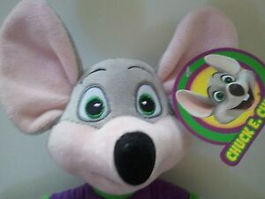 Chuck E Cheese Limited Edition Soft Plush Doll New For 2018! 13.5
