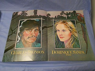 Cabo Blanco (1980) Charles Bronson, Jason Robards, Dominique Sanda PRESSBOOK