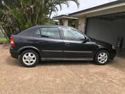 Black Holden Astra cd ts Hatch back 2001 Coral Cove Bundaberg City Preview