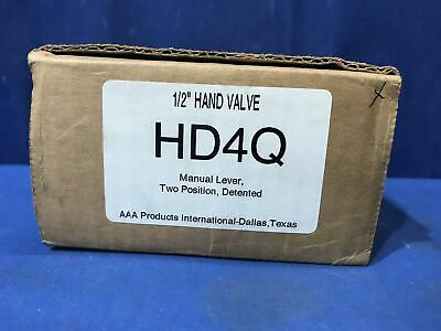 Aaa Air Gas General Purpose 12 Hand Valve Hd4q Free Shipping Manual Lever