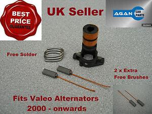 ARK103 NEW REPAIR KIT FOR VALEO ALTERNATOR Slip rings Brushes Brush Set 2000 on