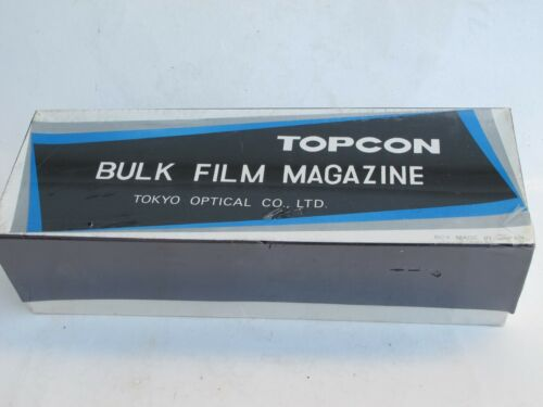 "Topcon Bulk Film Magazine in original box SEALED NEW? US SELLER ""LQQK"""