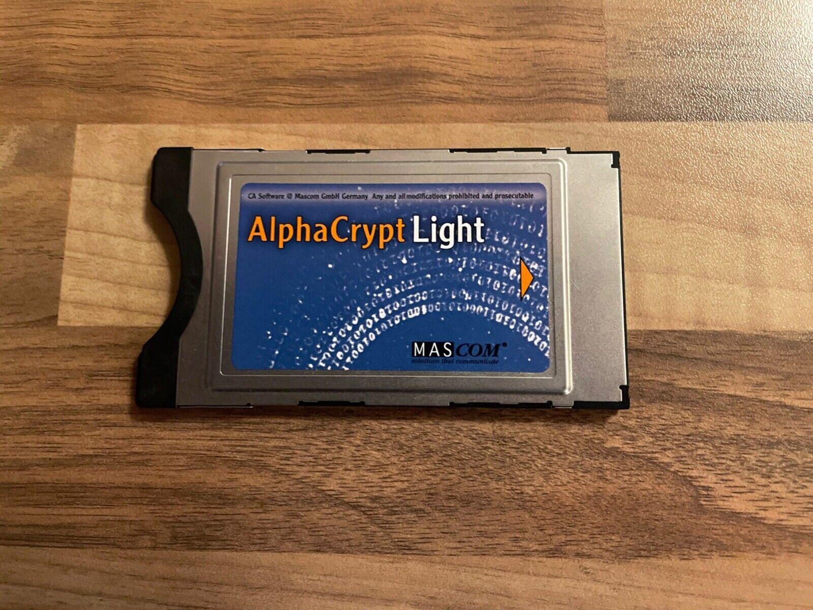 AlphaCrypt Light - MASCOM - CI Modul - Version R2.6