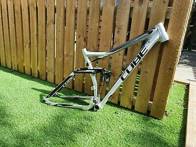 Cube Stereo Hpa 160 frame and fox shock
