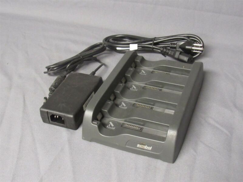 Motorola SAC4000-4000CR 4-slot Battery Charger w/ AC Adapter