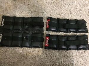 Two sets of ankle weights