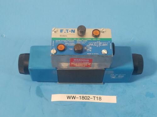 New  Vickers, Eaton, DG4V 3S 6C M FPBWL B5 60  Directional Control Valve