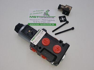 Magnetventil 6/2-Wegeventil 50L 12V DC Badestnost Umschaltventil Wechselventil