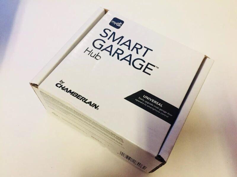 MyQ Smart Garage Hub by Chamberlain Smart Home Wifi hub And Door Sensor KIT