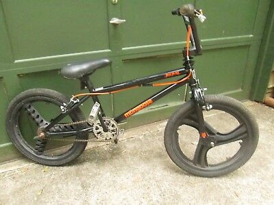 Cycling Mongoose Rebel Vintage Freestyle Type Bike Plastic Rims Freewheel Nice