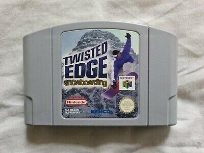 TWISTED EDGE SNOWBOARDING Nintendo 64 N64 Game PAL VERSION Snow Boarding