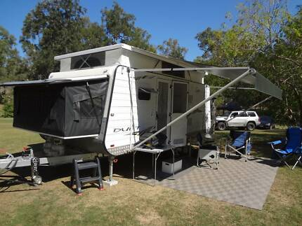Paramount Duet 16 ft 6in off road Expander Caravan Torquay Fraser Coast Preview