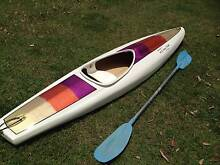 Custom Fibreglass  Kayak / Canoe with Paddle - Brisbane Pick Up Hawthorne Brisbane South East Preview