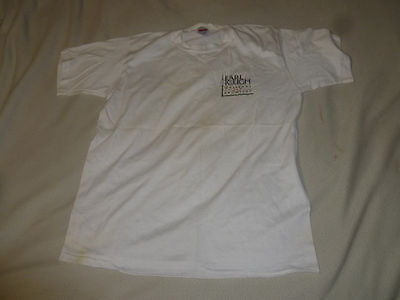 VINTAGE EARL KLUGH WHISPERS AND PROMISES JAZZ CONCERT SHIRT SIZE LARGE