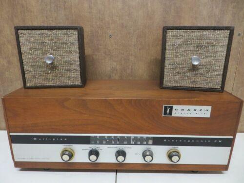 Vintage GRANCO MULTIPLEX 809 TEAK tube stereo RETRO