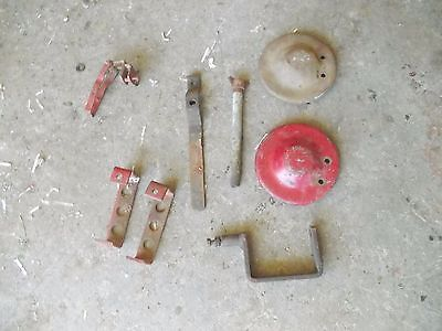 Farmall Tractor H M Throttle Control Hydraulic Holder A B Generator Bracket