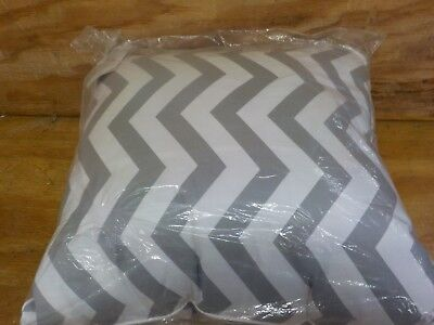 Jill Rosenwald Copley Collection Buckley Decorative Pillow, 18 by 18-Inch, Chevr