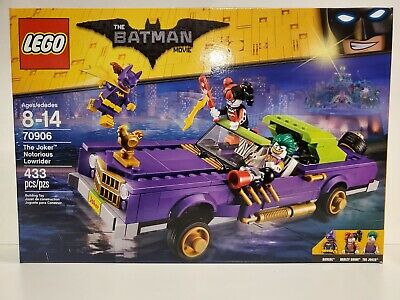 The LEGO Batman Movie (70906) The Joker Notorious Lowrider - New in Sealed Box!