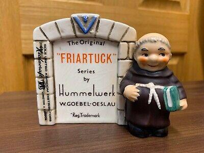 GOEBEL HUMMEL Friar Tuck Series RARE Store Advertising Plaque Sign - WZ-2 1959