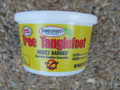 New!! 15oz TANGLEFOOT Tree Pest Control Barrier Paste Sticky Adhesive 100 sq ft