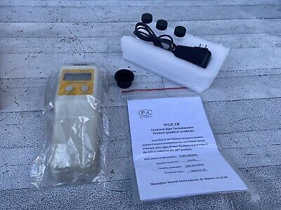 Portable Digital Turbidimeter Turbidity Meter 0.1 Ntu 0 - 200 Ntu Wgz-1b Nob