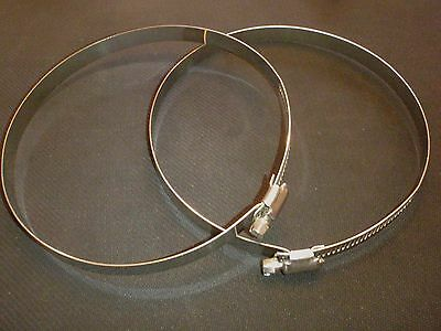 2 Pc Stainless Steel 12 Hose Duct Clamp Hdc289-311