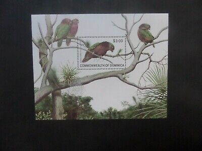 Dominica 1981 Birds Parrot MS MS746 MNH UM unmounted mint