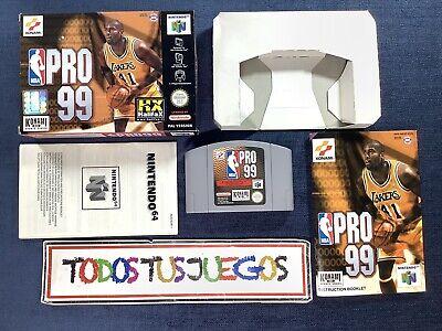 Nba PRO 99 Nintendo 64 N64 EXCELENTE CONDICION 3267