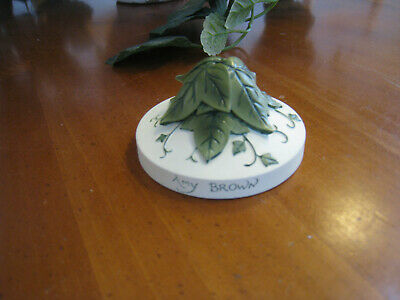 Amy Brown Collector's Display Base #88151S Add an Accent Ivy Leaves 2006 Fairy Collectors Display Base