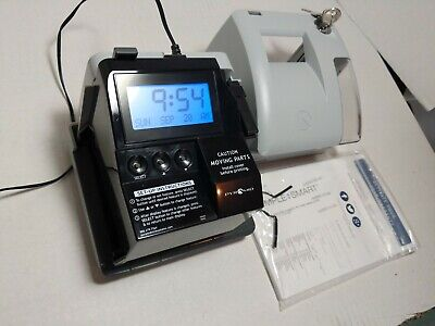 Pyramid 3550ss Smartsite Time Clock And Document Stamp - Partsrepair As-is Read