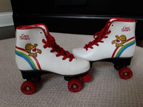 Vtg 1983 Care Bears Roller Skates Child