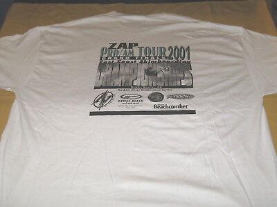 East Coast Skimboarding Championship Pro Am 2001 Grand Finals T Shirt New Xxl 2X