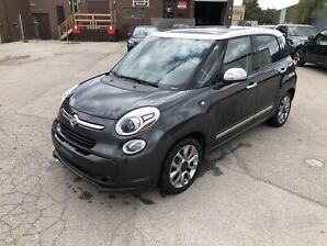 2014 Fiat 500L Lounge 6 SPEED MANUAL/NAVIGATION/NO ACCIDENT
