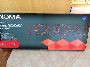Christmas light HO HO HO New in box!!!