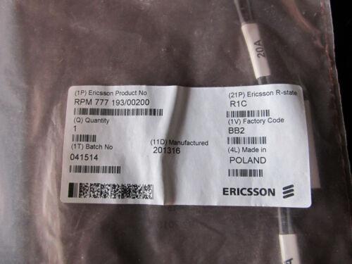 New Ericsson Cable RPM777193/00200