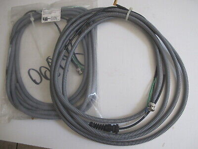 24ft RG-213 Coaxial Cable Jumper Hand Soldered High Quality Amphenol® connectors