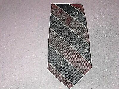 Chelsea Flambeau Smiling Clown Necktie Tie 1988 Red Blue Circus Big Top](Chelsea Smile)