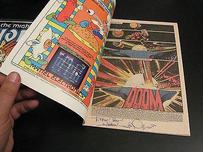 MIGHTY THOR #343, SIGNED Walt Simonson! (NM)
