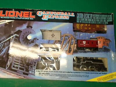 Lionel #6-1615 Cannonball Express 027 Train Set in Original Box