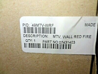 New Simplex 49mtv-wrf Horn Strobe Multi Tone Wall Mount Red Free Shipping